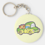Green Pickup Truck Tshirts and Gifts Key Chains
