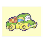 Green Pickup Truck Tshirts and Gifts Postcard