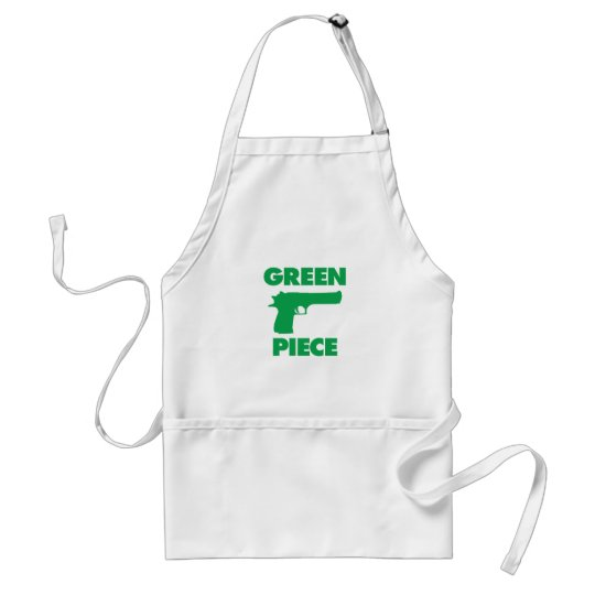 Green Piece Adult Apron