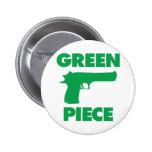 Green Piece Button