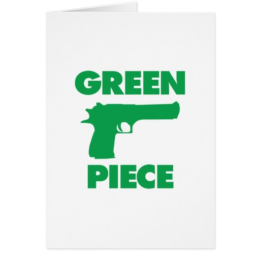 Green Piece Cards