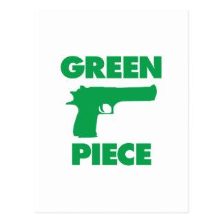 Green Piece Postcard