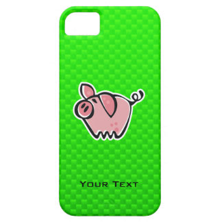 Green Pig iPhone 5 Covers