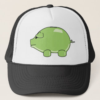 Green Pig Hat
