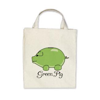 Green Pig Organic Tote Tote Bag