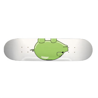 Green Pig Skateboard