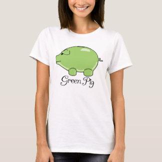 Green Pig Women's T-shirt