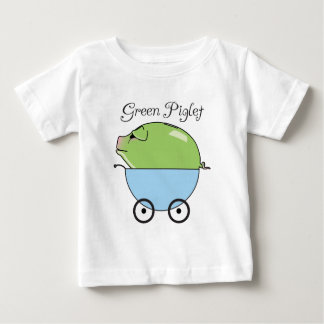 Green Piglet (Blue) Infant T-Shirt
