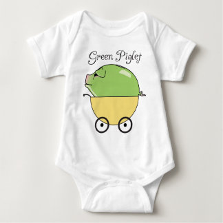 Green Piglet Yellow) Tees