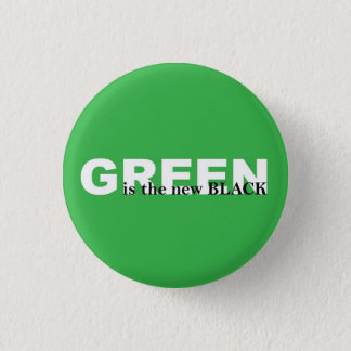 Green Pinback Button