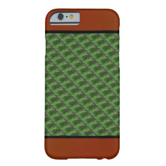 Green Pine Needles Pattern Barely There iPhone 6 Case
