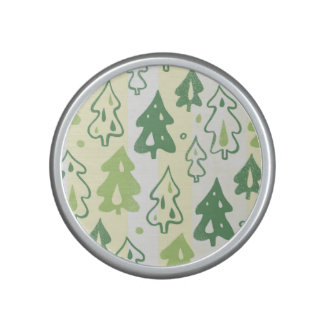 Green Pine Trees Environmental Forest Pattern Speaker