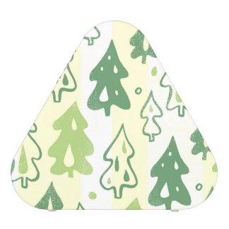 Green Pine Trees Environmental Forest Pattern Bluetooth Speaker