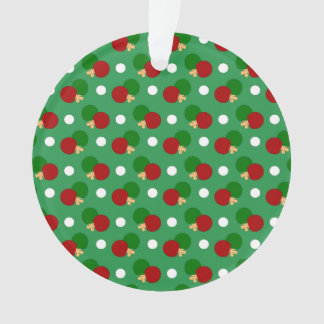 Green ping pong pattern