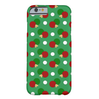 Green ping pong pattern barely there iPhone 6 case