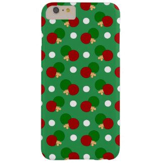 Green ping pong pattern barely there iPhone 6 plus case