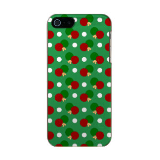 Green ping pong pattern incipio feather® shine iPhone 5 case