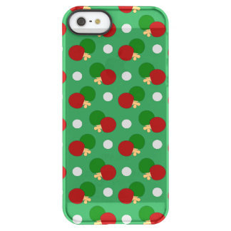Green ping pong pattern uncommon permafrost® deflector iPhone 5 case