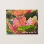 Green Pink Cabbage Ornamental Vegetable Sunglight Puzzle