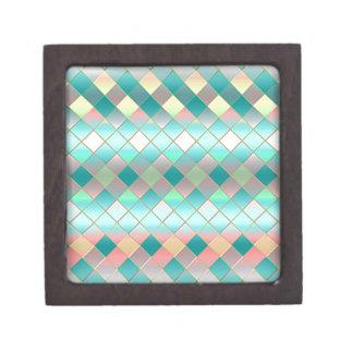 Green Pink Premium Jewelry Boxes