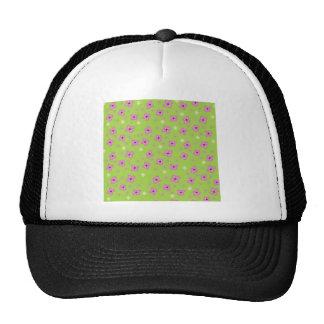 Green Pink retro design Broadhurst inspired Trucker Hat