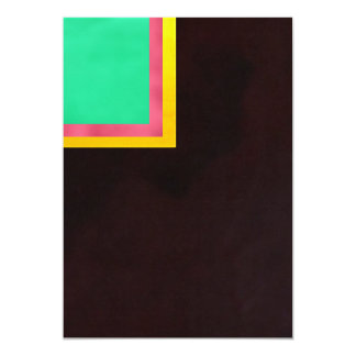 Green-Pink Yellow Black Card
