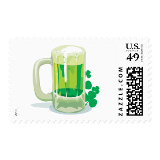 Green Pint Stamps
