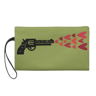 Green Pistol Wristlet