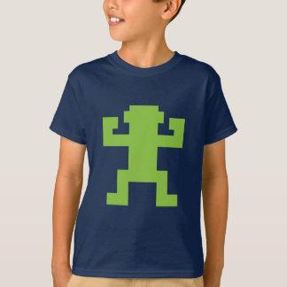 Green Pixel Monkey T-shirt