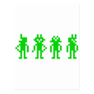 green pixel robots postal