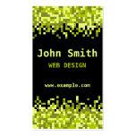 Green Pixels Business Card
