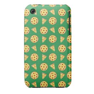 green pizza pattern iPhone 3 Case-Mate case