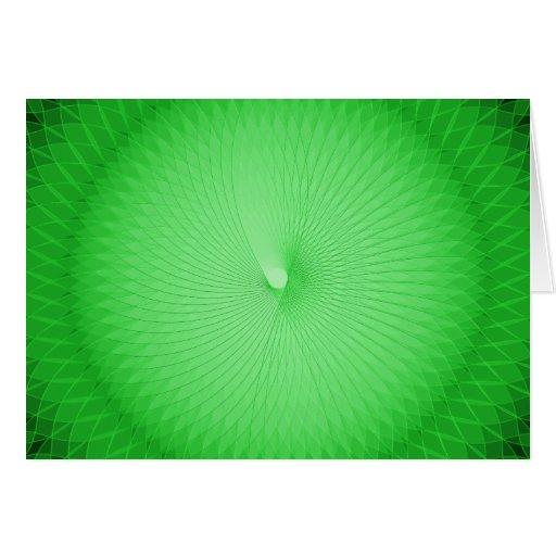 Green Plafond Card