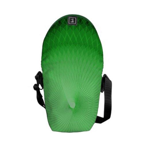 Green Plafond Courier Bag