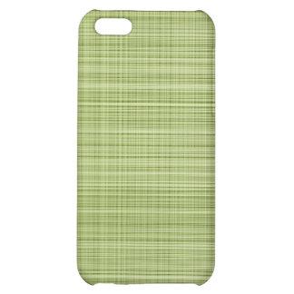 Green Plaid Case iPhone 5C Cases