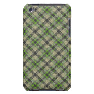 Green Plaid Case-Mate iPod Touch Case