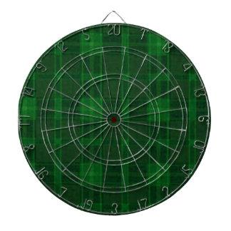 Green Plaid Dart Board