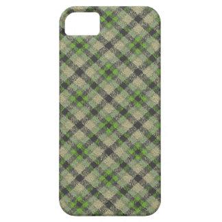 Green Plaid iPhone SE/5/5s Case