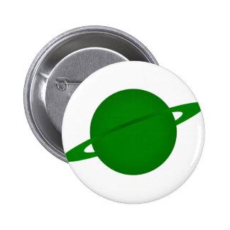 Green Planet Buttons