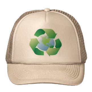 green planet trucker hat