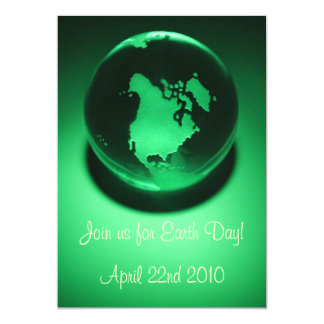 Green Planet Invitations