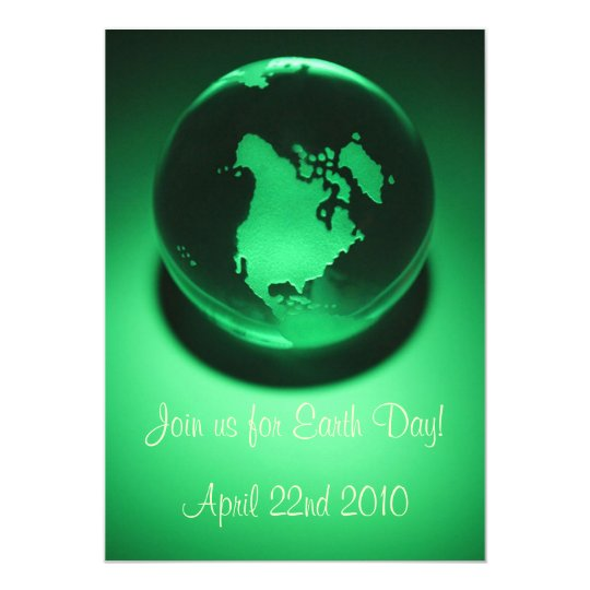 Green Planet Invitations