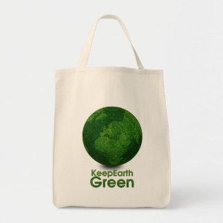 Green Planet - Keep Earth Green Canvas Bag