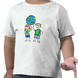 kids recycle T-shirt