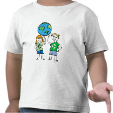 Earth Day toddler shirt
