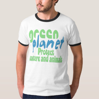 green planet - protect nature and animals T-Shirt
