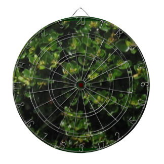 Green Plant Dartboard