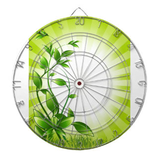 Green Plant Fash Dart Boards
