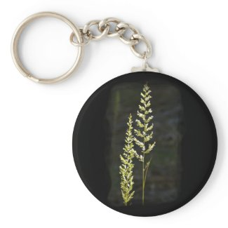 Green Plant Key Chain