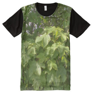 Green plant leafs All-Over print t-shirt